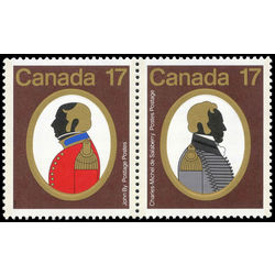 Canada stamp 820ai canadian colonels 1979