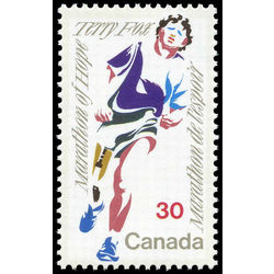 Canada stamp 915i terry fox 30 1982
