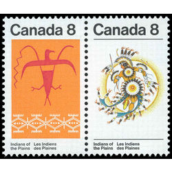 canada stamp 565aii plains indians 1972