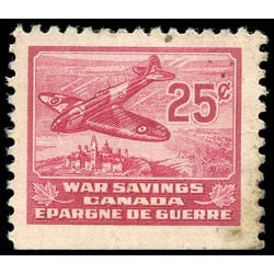 canada revenue stamp fws6 spitfire war savings stamps 25 1940