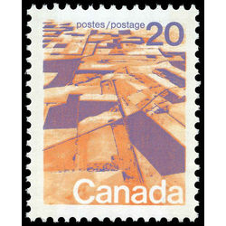 Canada stamp 596xii prairies 20 1972