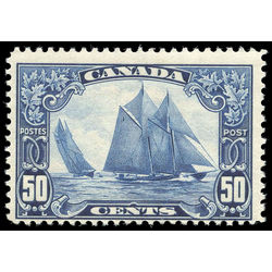 Canada stamp 158 bluenose 50 1929 m fnh 012