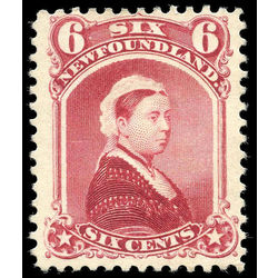 Newfoundland stamp 36 queen victoria 6 1894 m vf 001