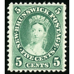 new brunswick stamp 8i queen victoria 5 1860