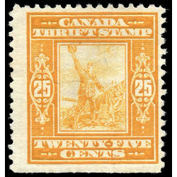canada revenue stamp fws1 war savings stamps 25 1918