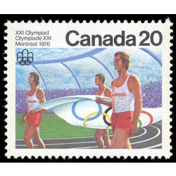 Canada stamp 682i opening ceremony 20 1976