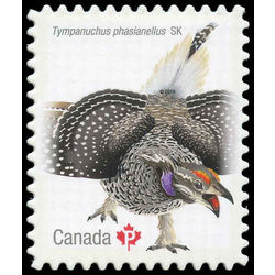 canada stamp 2930i sharp tailed grouse 2016