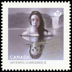 canada stamp 2938i lady in white qc 2016