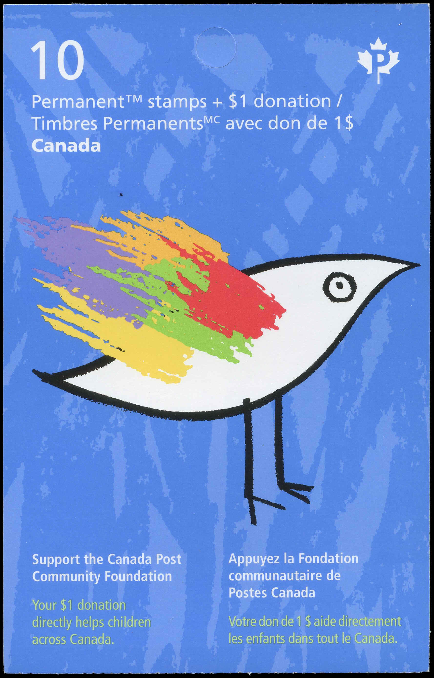 Buy Booklet #BK654 Canada Post Community Foundation (2016