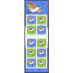 canada stamp booklets bk bk654 canada post community foundation 2016