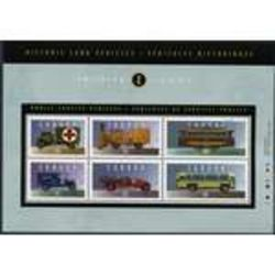 canada stamp 1527i historic public service vehicles 2 1994