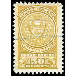 canada revenue stamp qst14 stock transfer tax stamps 50 1913
