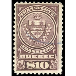 canada revenue stamp qst17 stock transfer tax stamps 10 1913