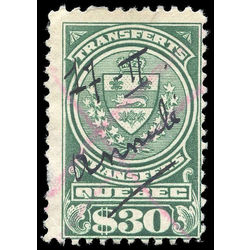 canada revenue stamp qst18 stock transfer tax stamps 30 1913