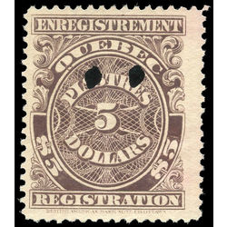 canada revenue stamp qr24 registration 5 1912