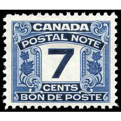 canada revenue stamp fps9 postal note scrip first issue 7 1932