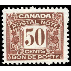canada revenue stamp fps17 postal note scrip first issue 50 1932
