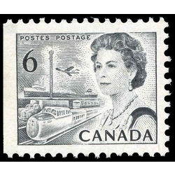 canada stamp 460cpxi queen elizabeth ii transportation 6 1971