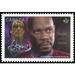 canada stamp 2988i captain sisko vs dukat 2017