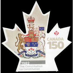 canada stamp 3005i 1982 the constitution 2017