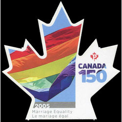 canada stamp 3007i 2005 marriage equality 2017