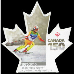 canada stamp 3009 1976 2010 paralympic glory 2017