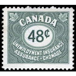 canada revenue stamp fu40 unemployment insurance stamps 48 1955
