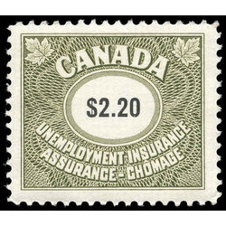 canada revenue stamp fu102 unemployment insurance stamps 2 20 1968