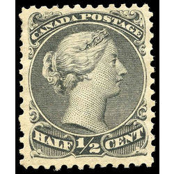 Canada stamp 21 queen victoria 1868 m vf 001