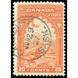 Canada stamp e special delivery e3 confederation issue 20 1927 u f 001