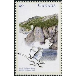 canada stamp 1321 south nahanni river nt 40 1991