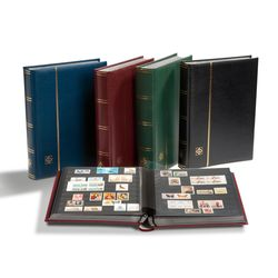Stockbook lighthouse premium with matching slipcase