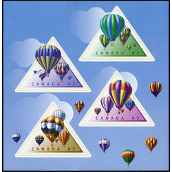 Canada stamp 1921 se hot air balloons 2001
