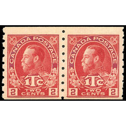 canada stamp mr war tax mr6pa war tax coil pair 1916 M VFNH 002