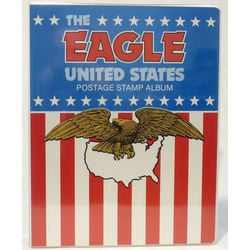 eagle united states stamp album