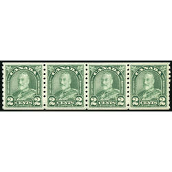 canada stamp 180strip king george v 1931