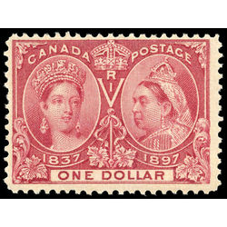 Canada stamp 61 queen victoria jubilee 1 1897 m fnh 015