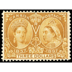 Canada stamp 63 queen victoria jubilee 3 1897 m vf 005