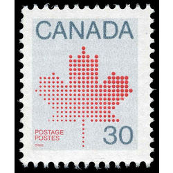 Canada stamp 923 maple leaf 30 1982 m vfnh 001