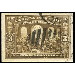 Canada stamp 135a fathers of confederation 1917 single uvf 001