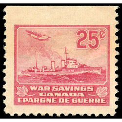 canada revenue stamp fws9 destroyer war savings stamps 25 1940