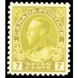 canada stamp 113iv king george v 7 1912