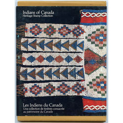 Indians of canada heritage stamp collection