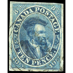 Canada stamp 7 jacques cartier 10d 1855 u f 008