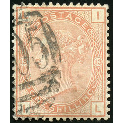 great britain stamp 65 queen victoria 1873 U VF 001