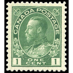 Canada stamp 104 king george v 1 1911 m xfnh 002