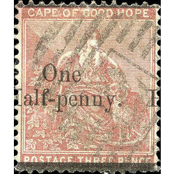 cape of good hope stamp 39 cape of good hope 1882 U VF 001