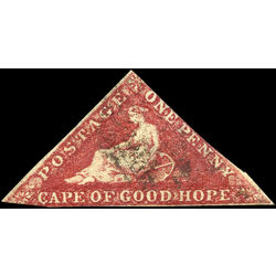cape of good hope stamp 12 cape of good hope 1863 U 001