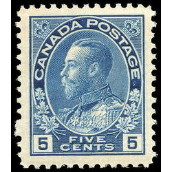 canada stamp 111 king george v 5 1914 M VFNH 003