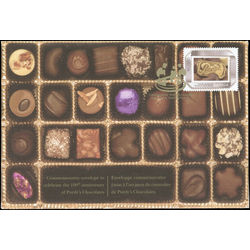 purdy s chocolates commemorative envelope 100th anniversary
